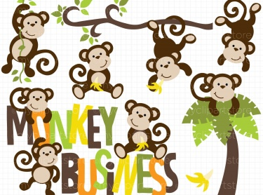 Pictures Of Monkeys Hanging From A Tree - Cliparts.co