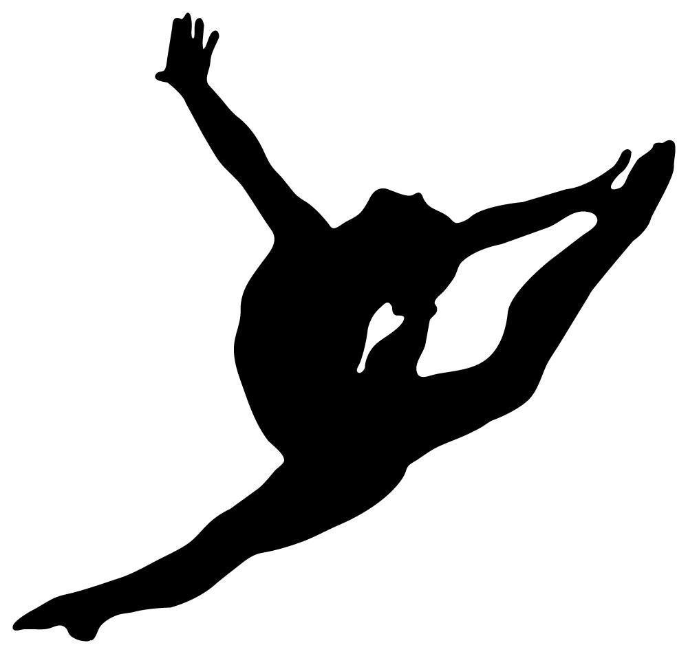 ballerina silhouette leap - photo #25