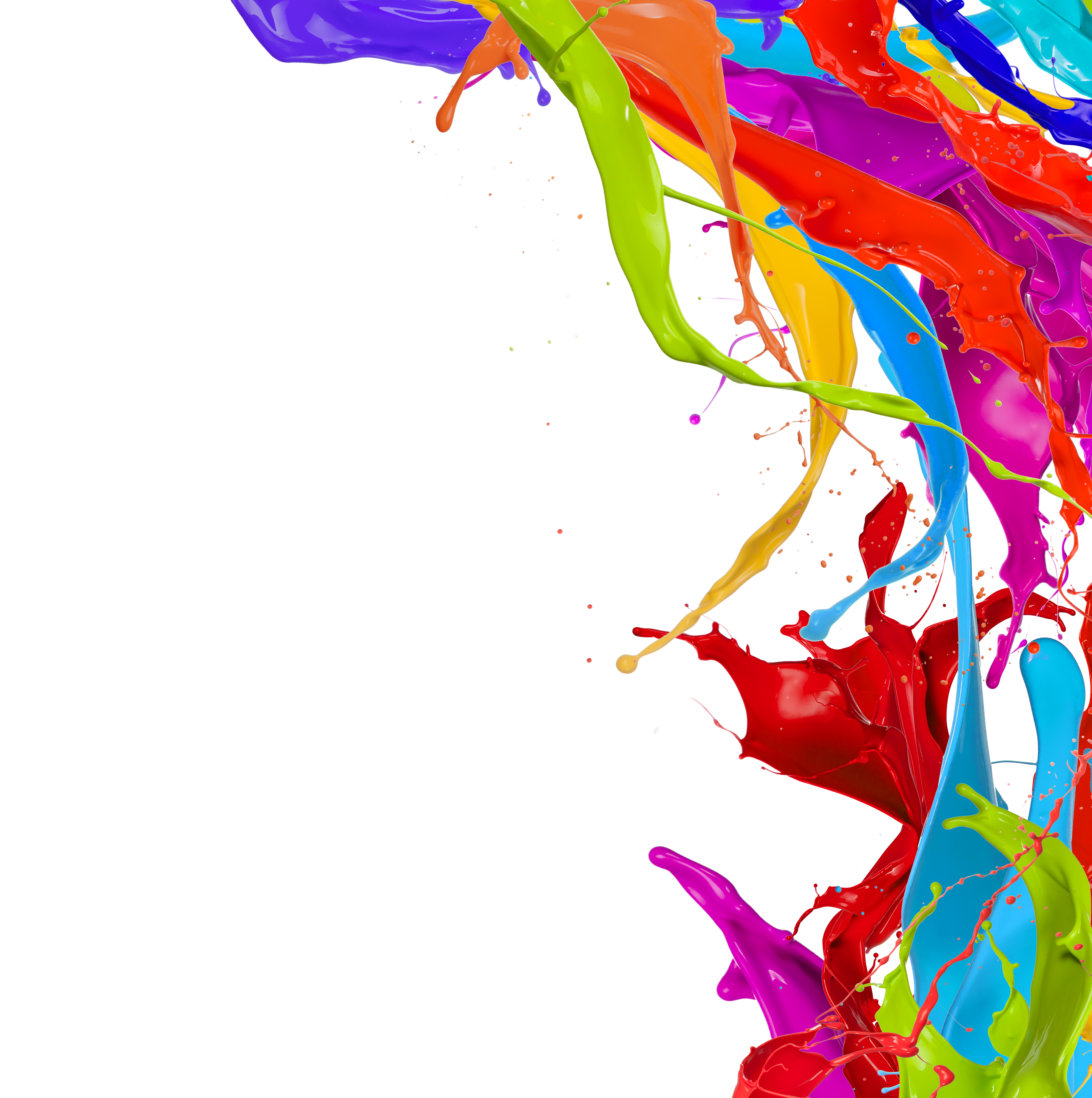 Paint splash for Arts and craft paint