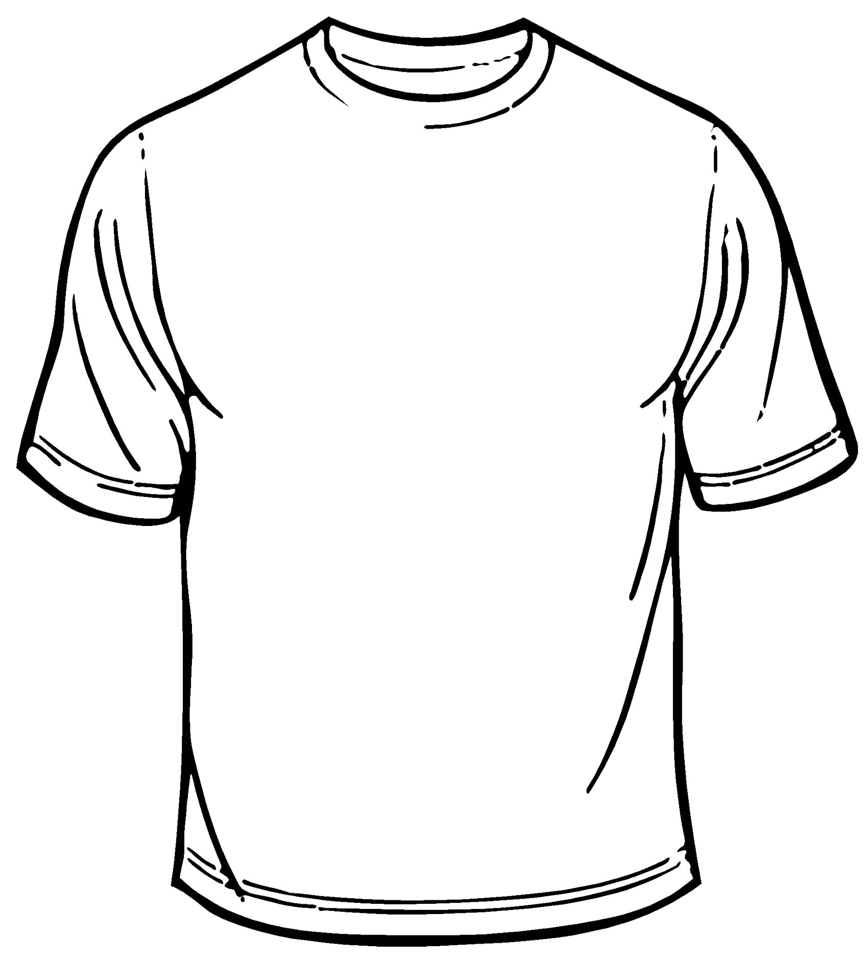 Blank Tshirt Template | Best Template Collection