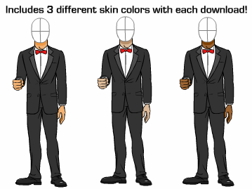 Similiar Cartoon Tuxedo Keywords