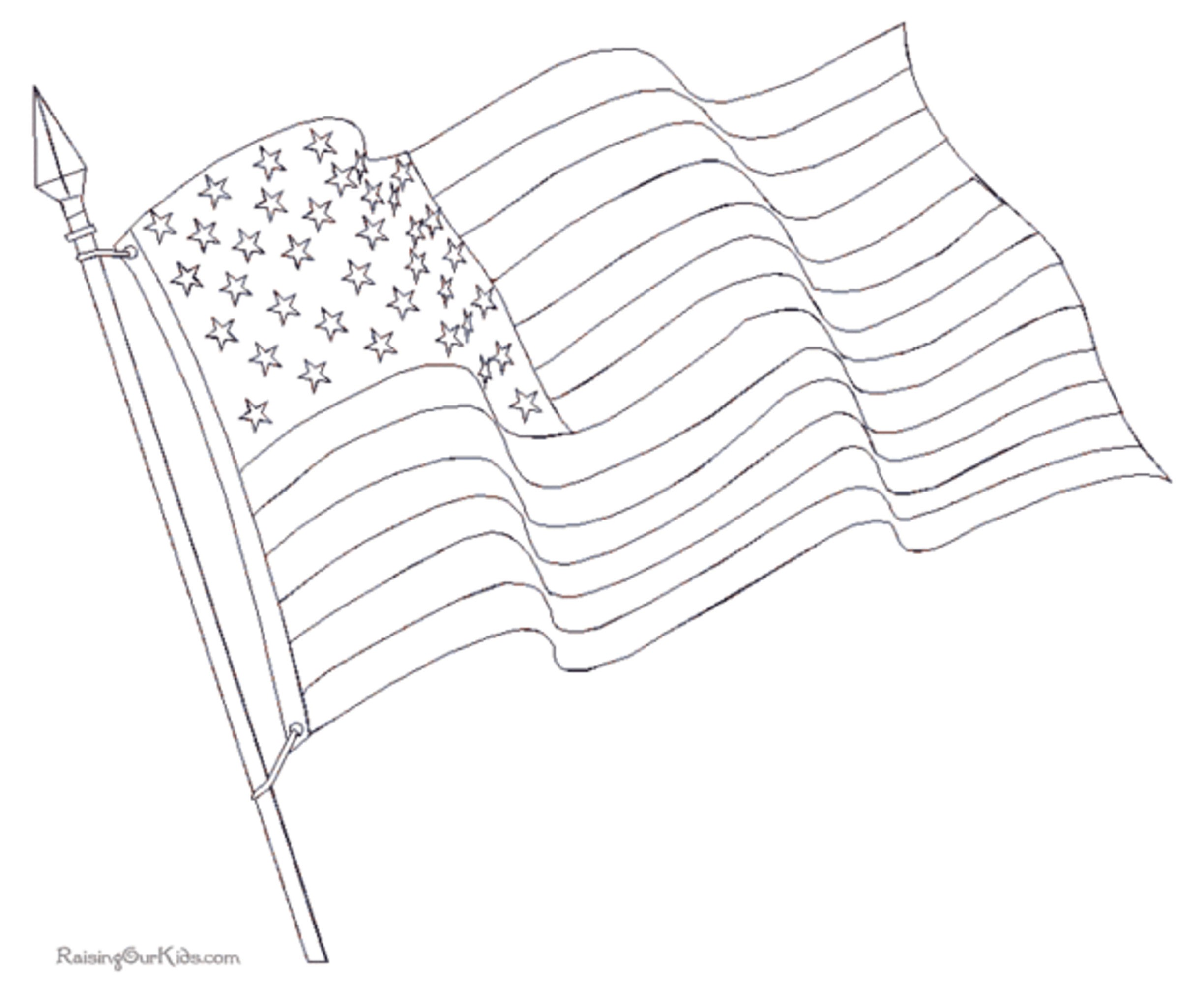 Line Drawing Usa : Waving american flag drawing cliparts