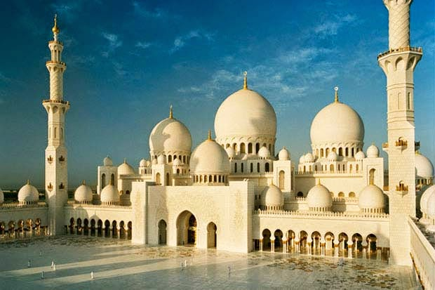 Kumpulan Gambar Masjid Sheik Zayed Terindah Di Dunia Masjid Agung Cliparts Co