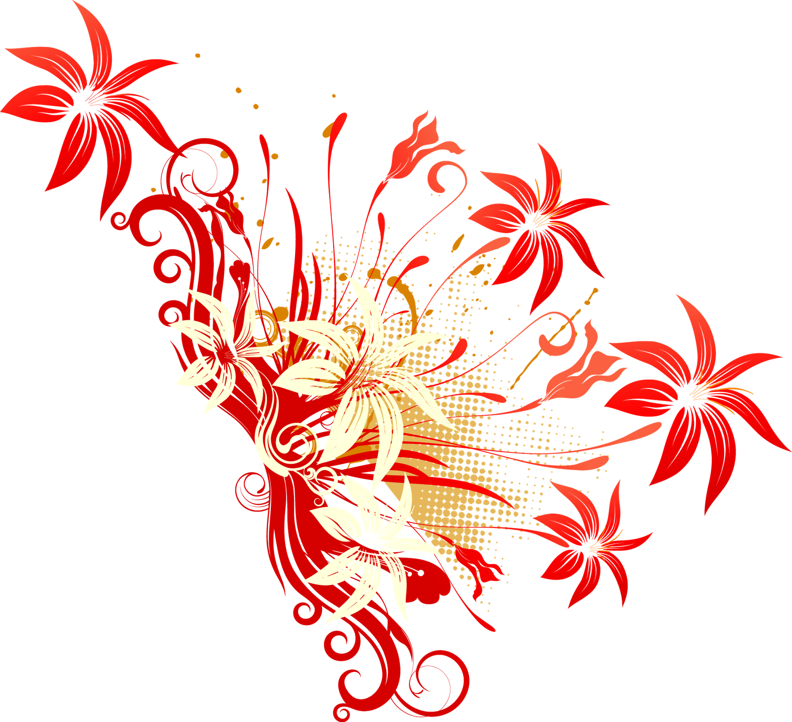 Flower Vector Png - Cliparts.co