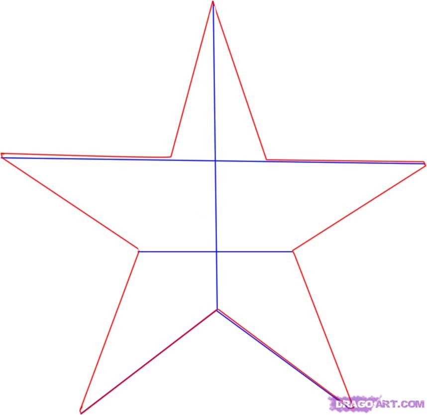 Line Drawing Star : Star line drawing