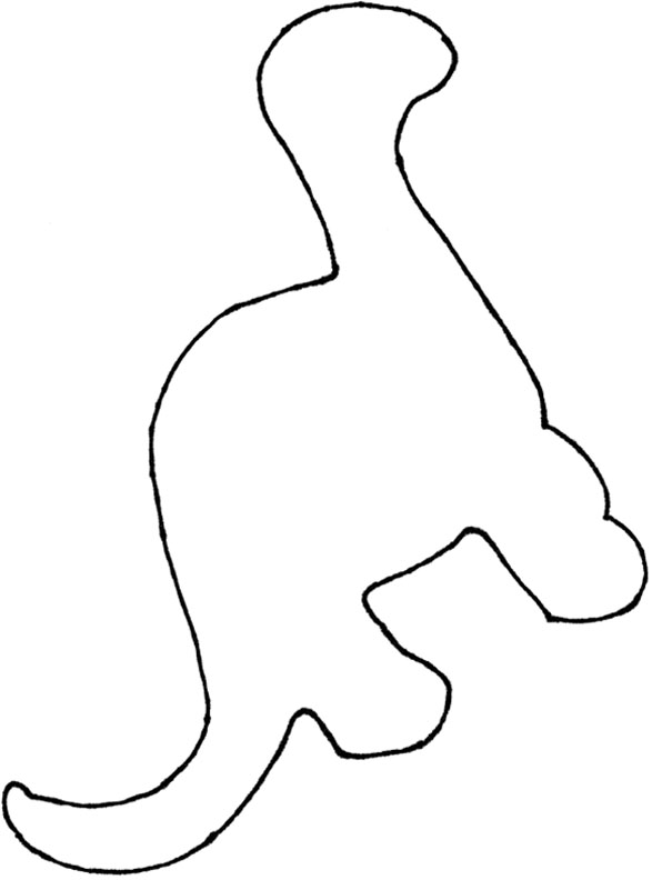 Dinosaur Footprint Template Printable - ClipArt Best