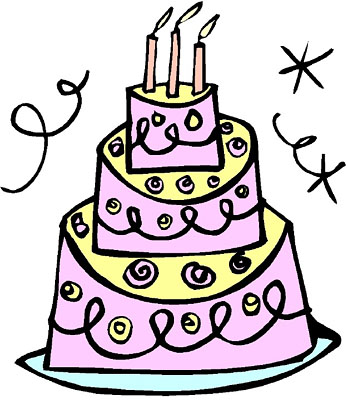 Pink Birthday Cake Clipart | Clipart Panda - Free Clipart Images