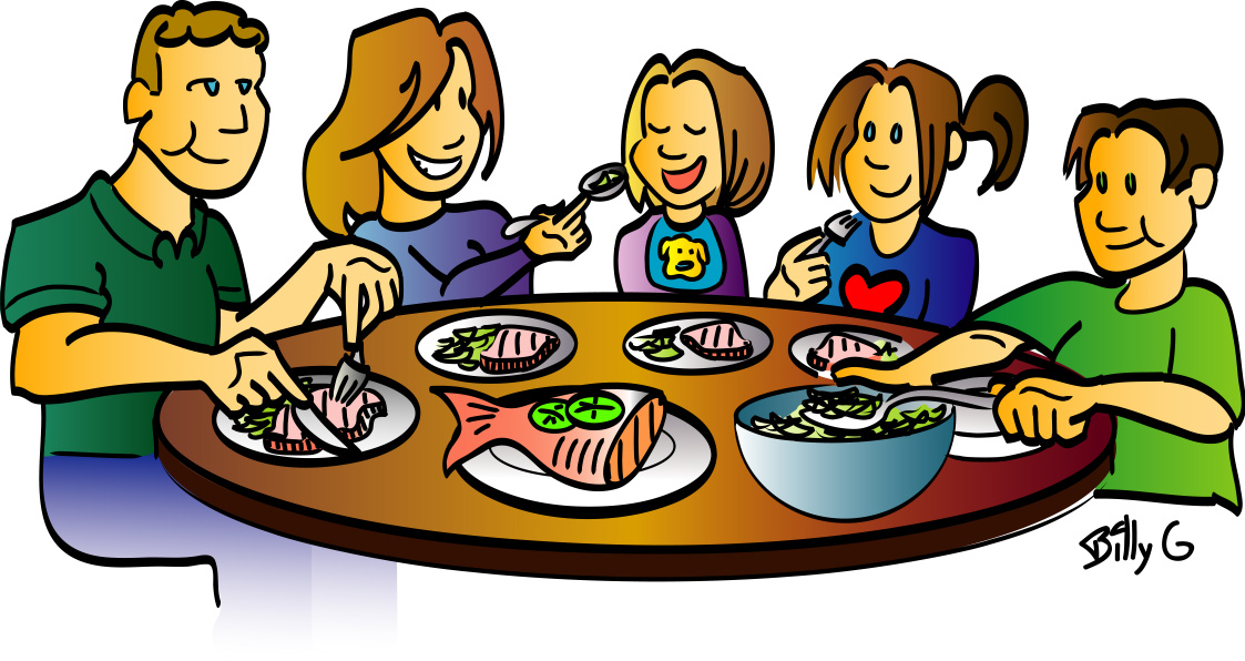 Clip Art Dinner - Cliparts.co