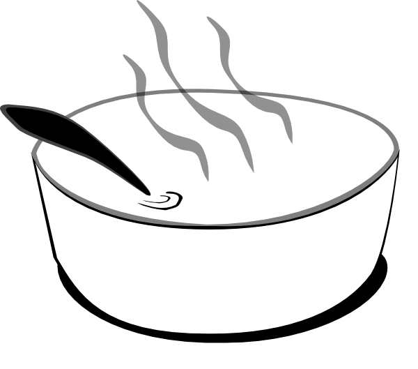 Bowl Of Soup Clipart - Cliparts.co