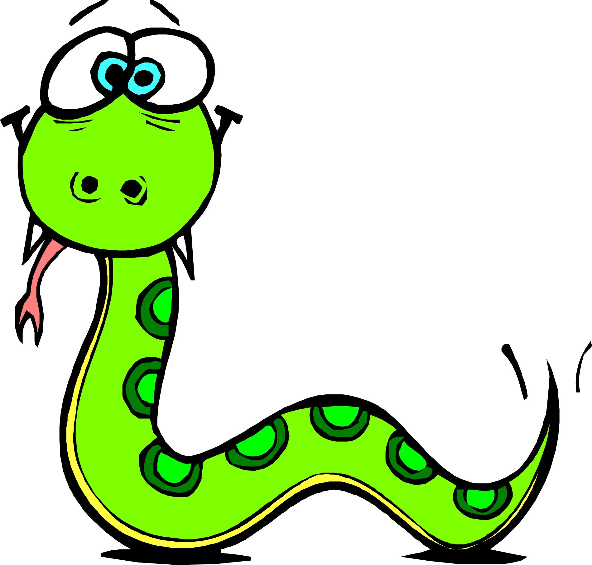 Cartoon Snakes - Cliparts.co