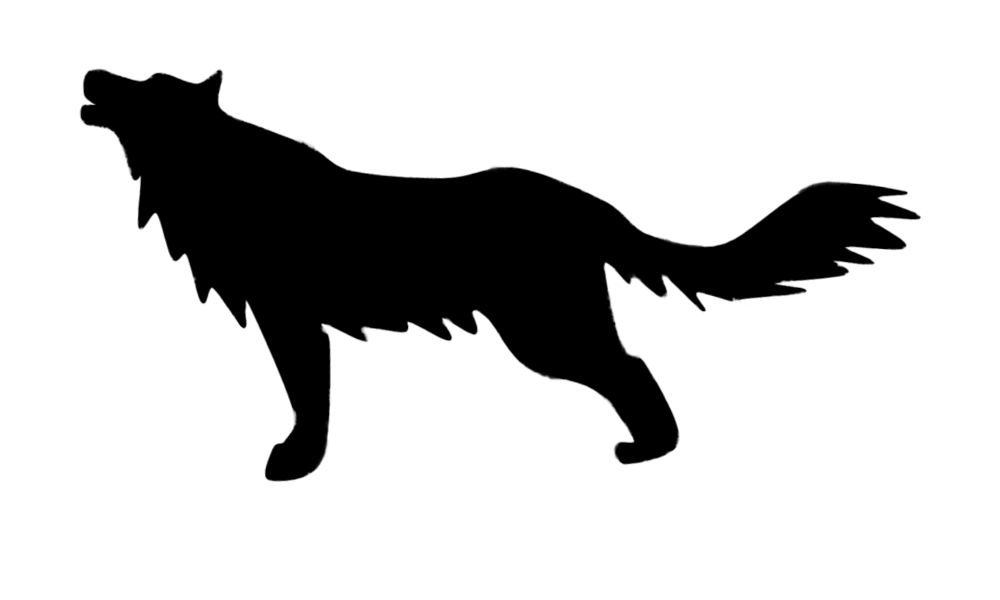 Wolf Silhouette - Cliparts.co