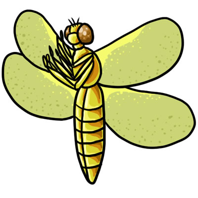 50 FREE Dragonfly Clip Art 23