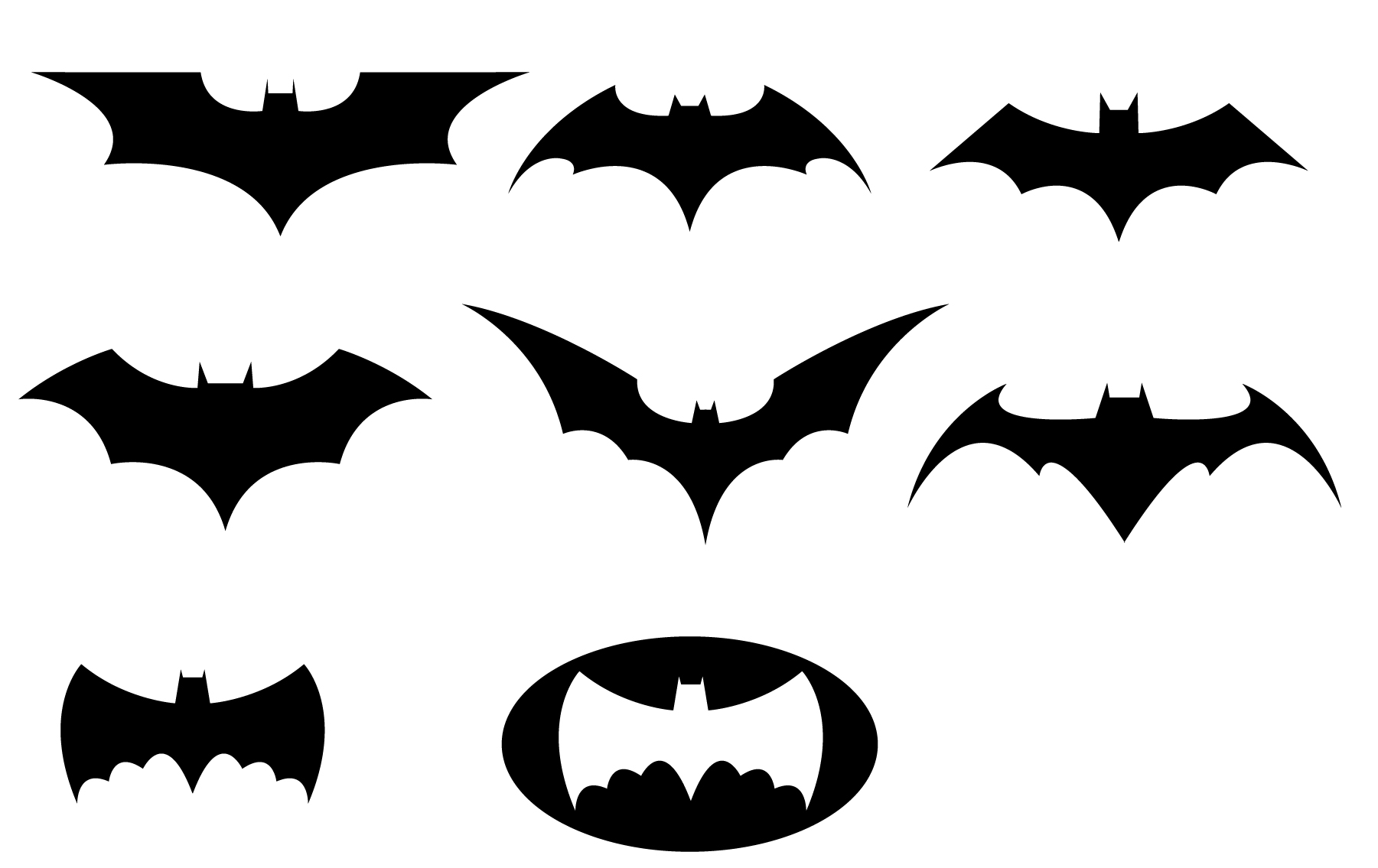 Batman Logo Printable - ClipArt Best
