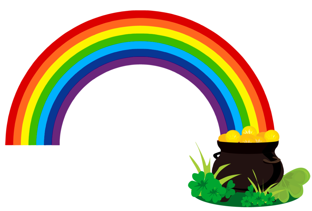 St Patrick Pot of Gold PNG Picture
