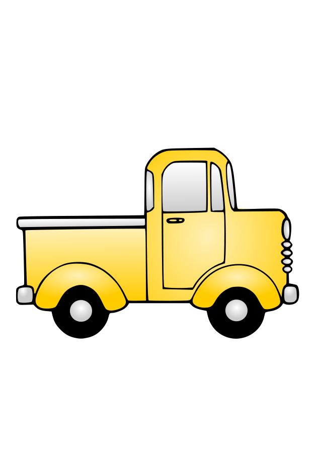 free clip art cartoon trucks - photo #4