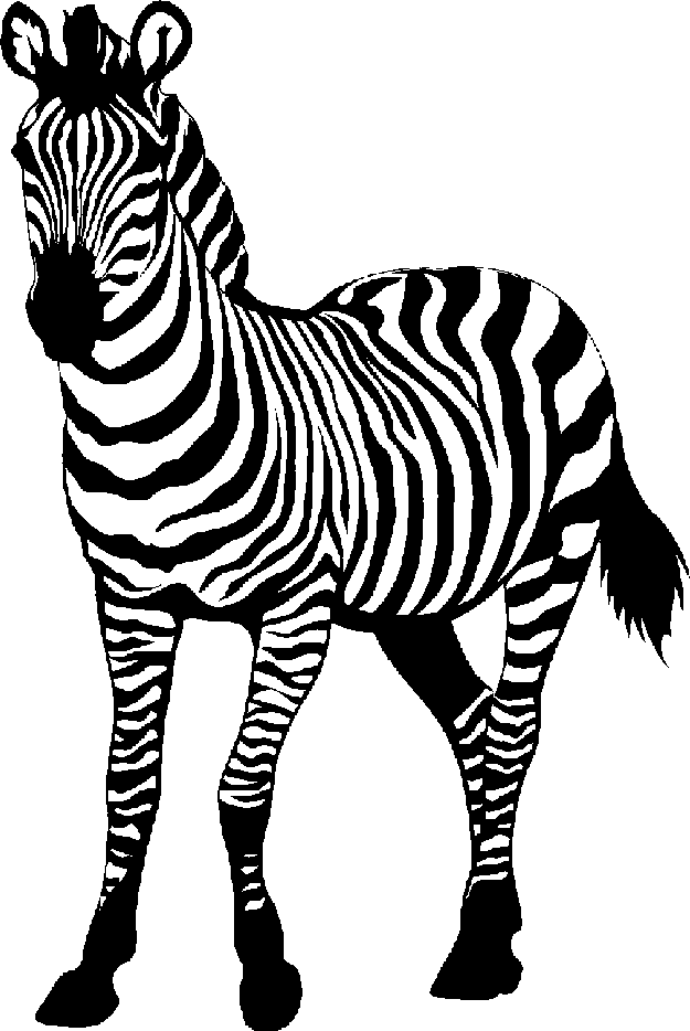 Zebra Print Clip Art Free - Cliparts.co