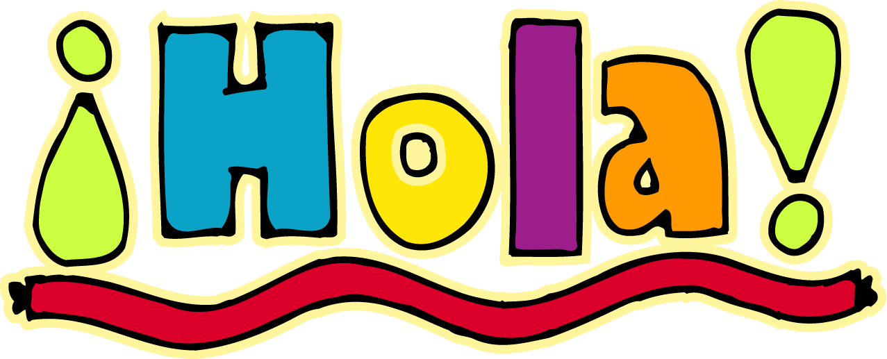 Image result for hola clipart