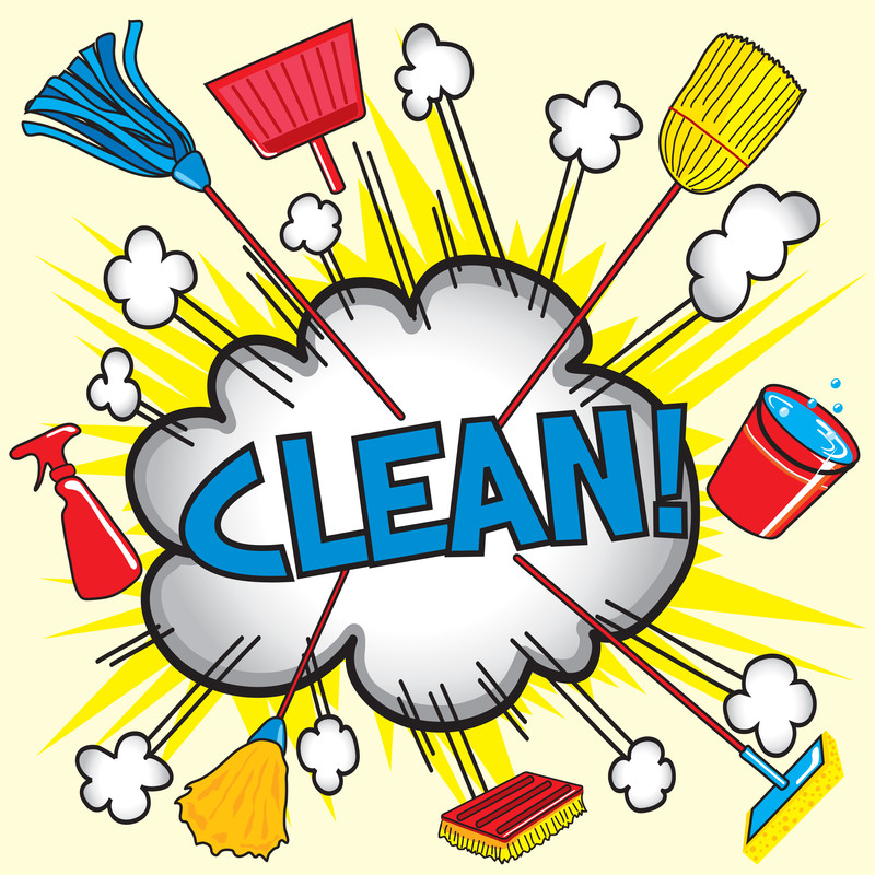 free clipart kitchen cleaning - photo #19