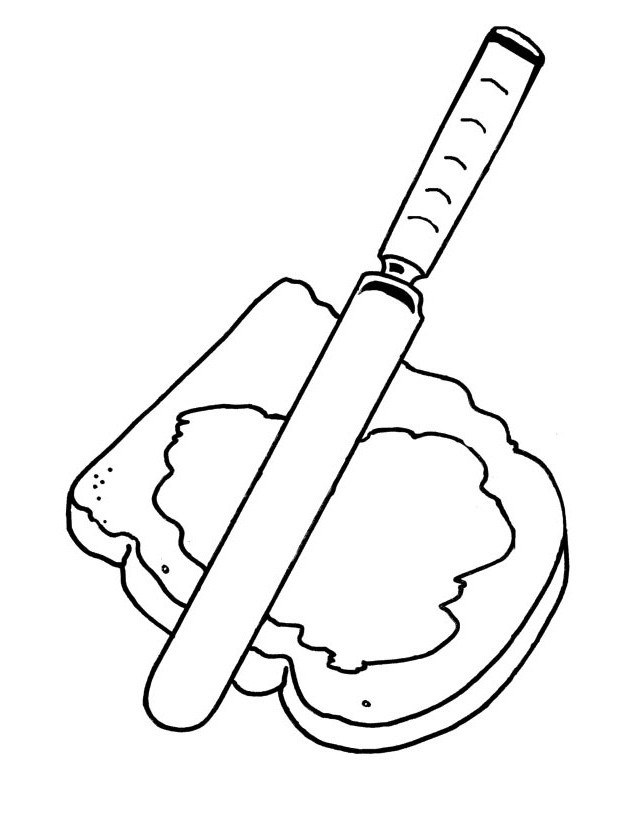 ice cream sandwich coloring pages - photo #13