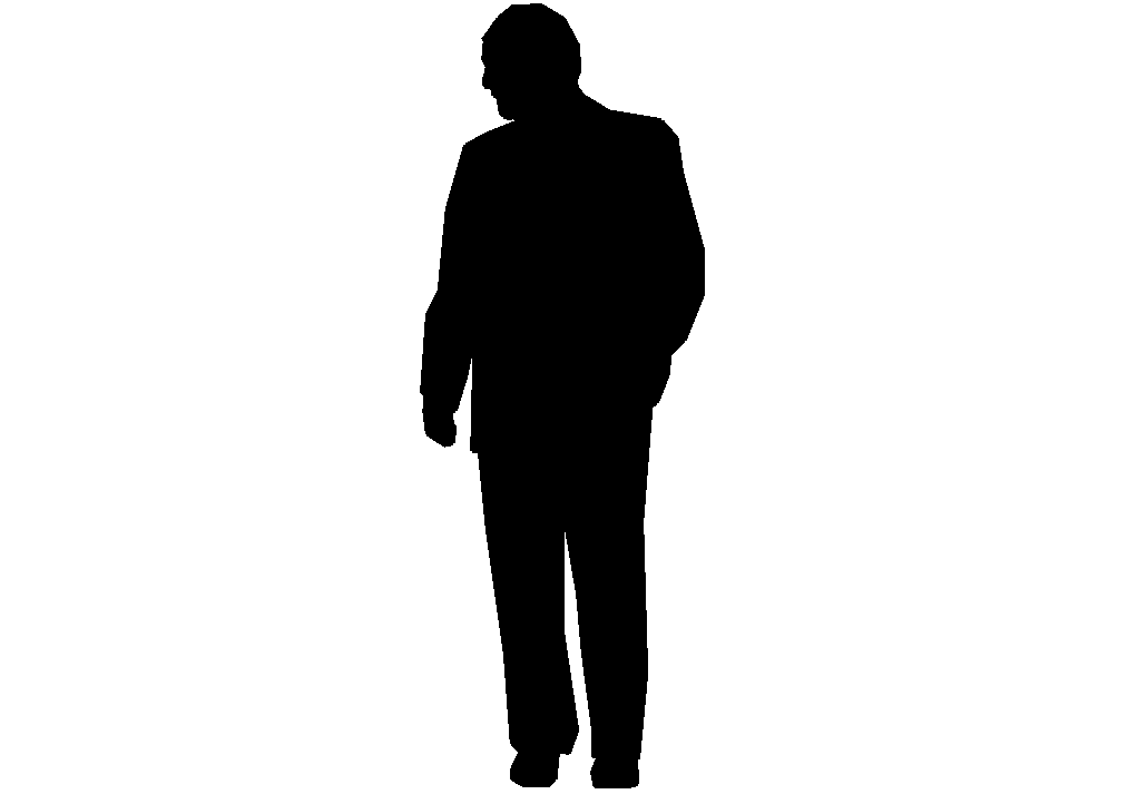 The gallery for --> Silhouette Man