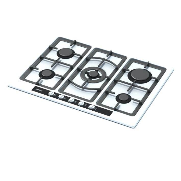 Clipart Stove Top White And Black Gas Stove Top
