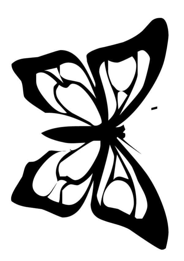 Monarch Butterfly Template Printable Images Amp Pictures