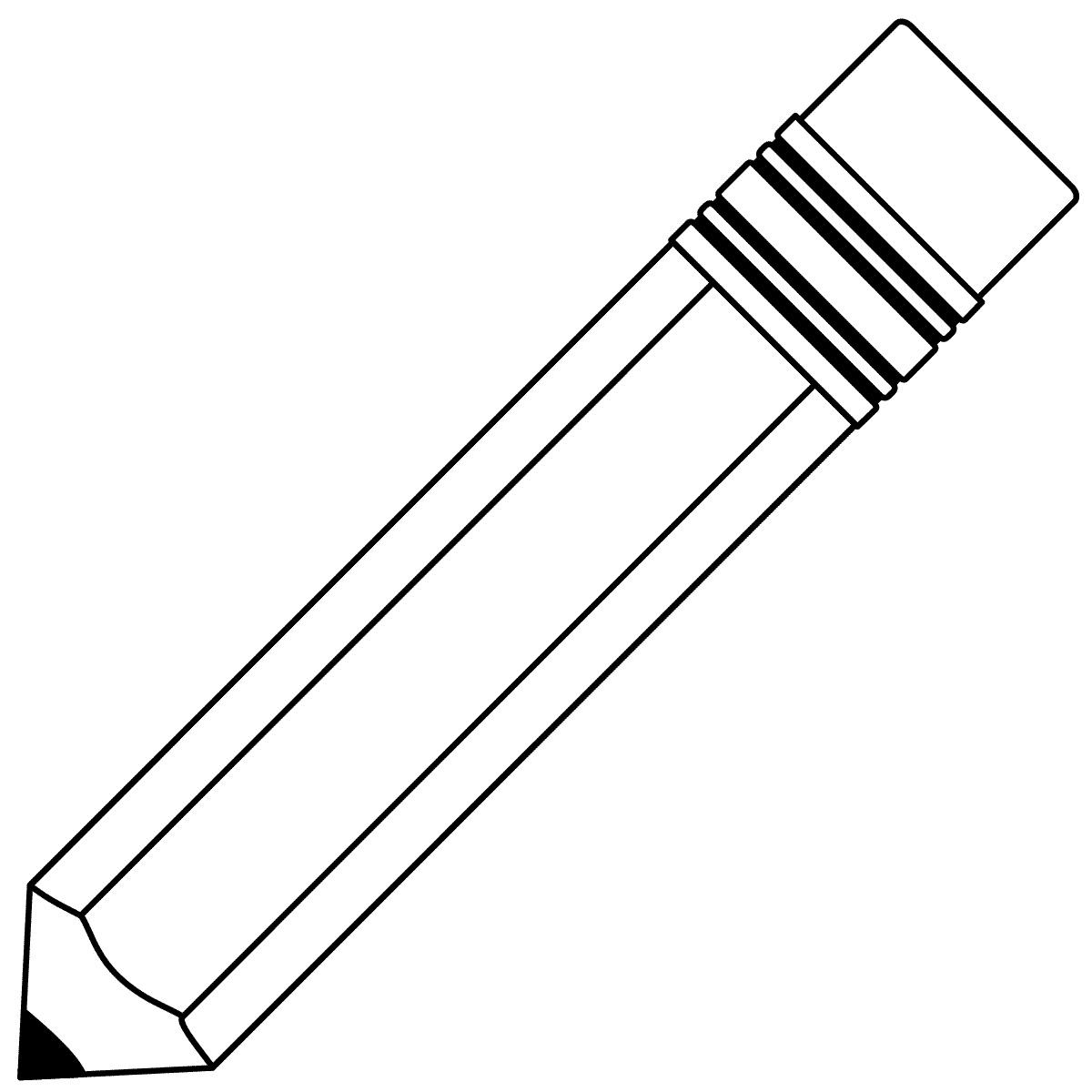 Line Drawing Pencil : Pencil line art cliparts