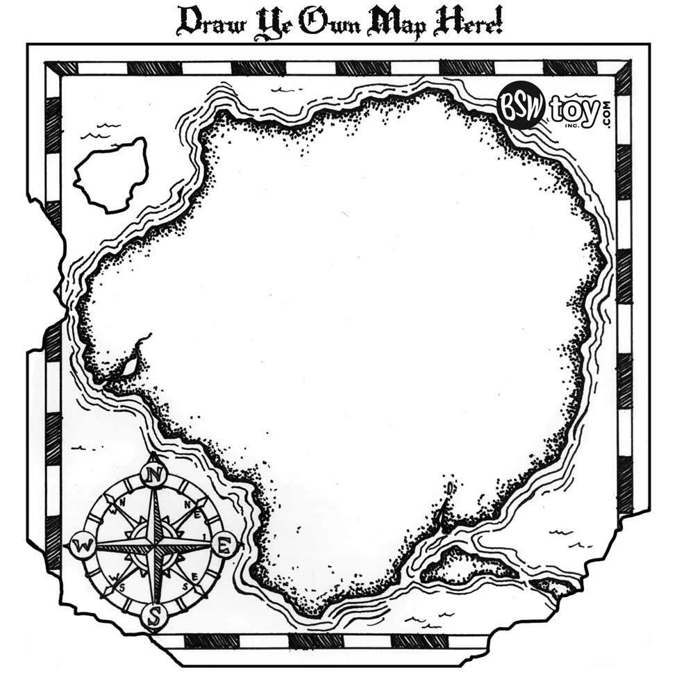 pirate map picture