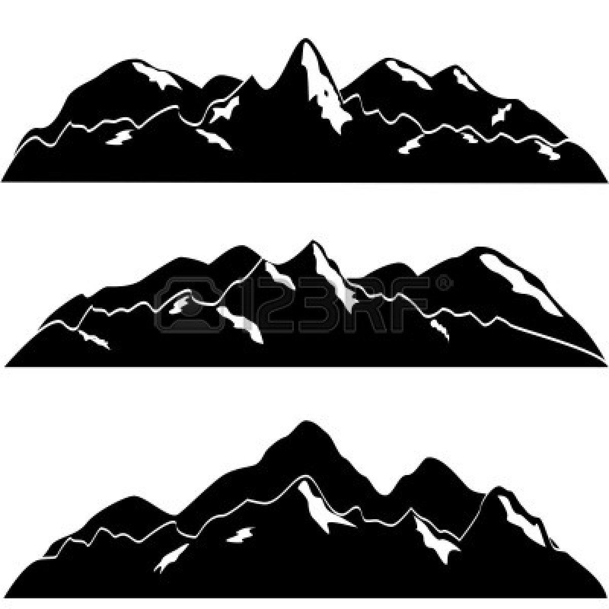 vector clip art mountain - photo #18