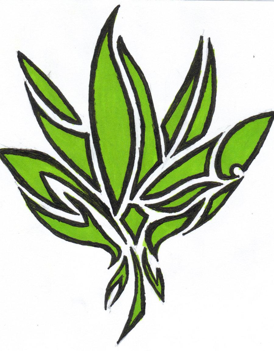 Marijuana Leaf Clipart - Cliparts.co