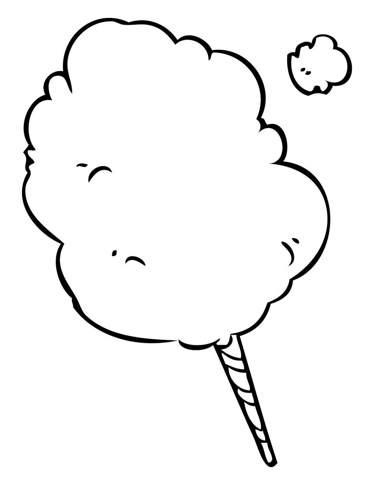 Cotton Candy Clip Art