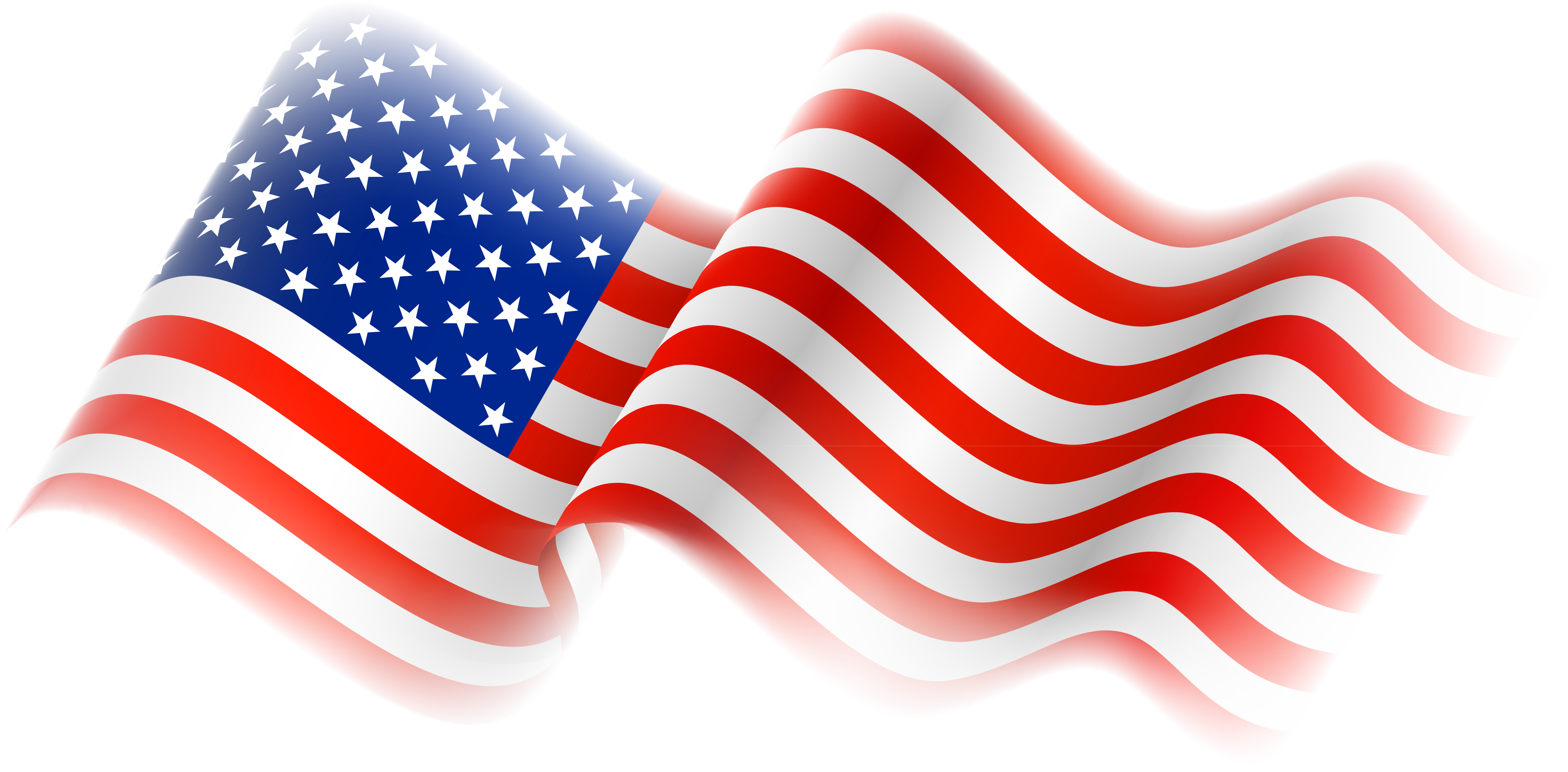 clip art of american flag animated - photo #33