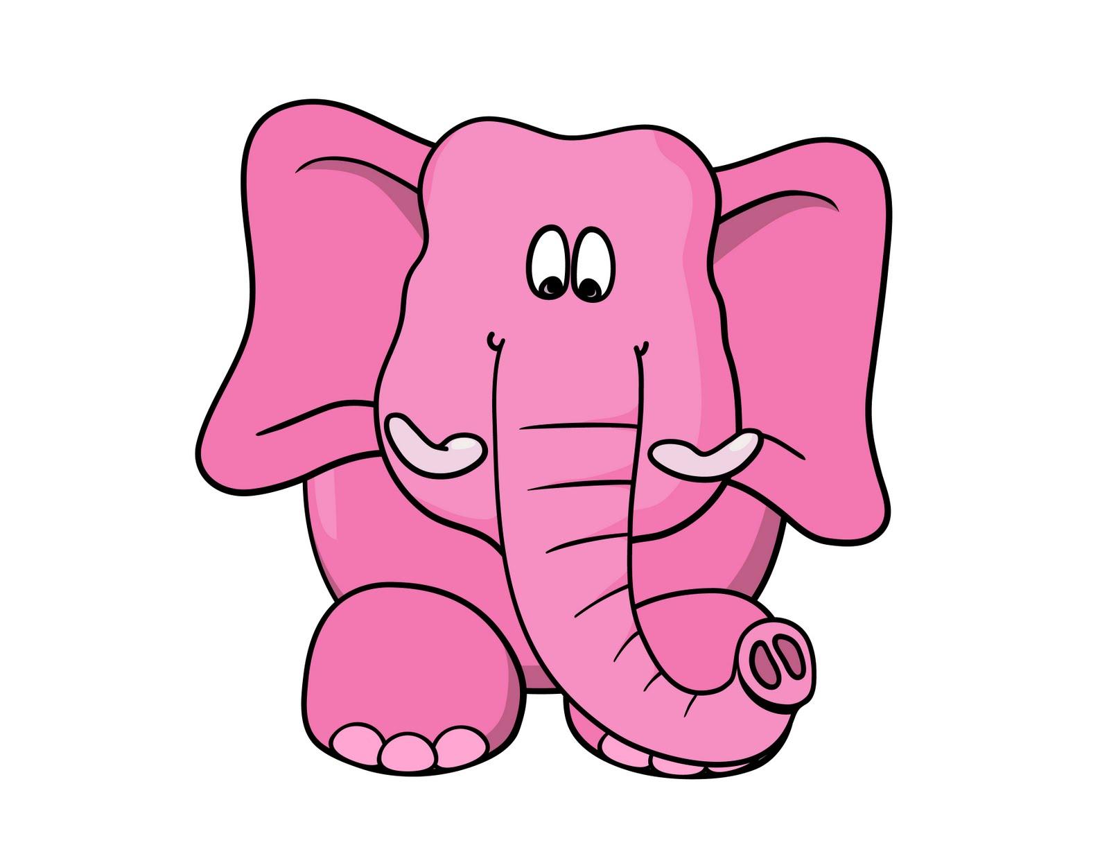 Funny Elephant Cartoon - Cliparts.co