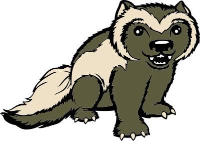 wolverine animal clipart rh worldartsme com wolverine clip art free wolverine animal clipart