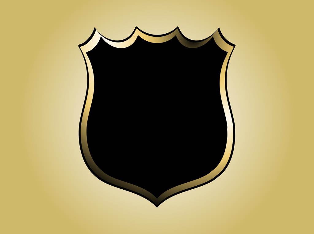Police Badge Clipart | Chadholtz