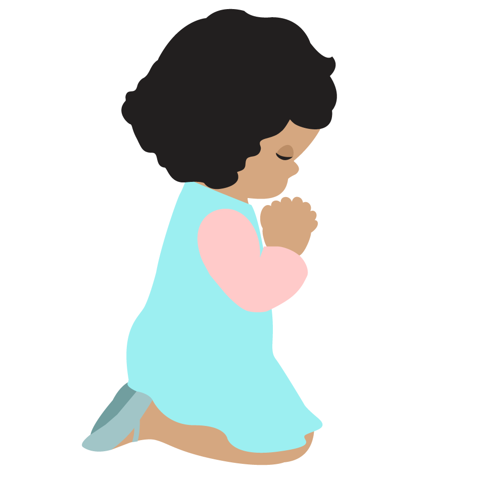 Images For > Child Praying Hands Clipart