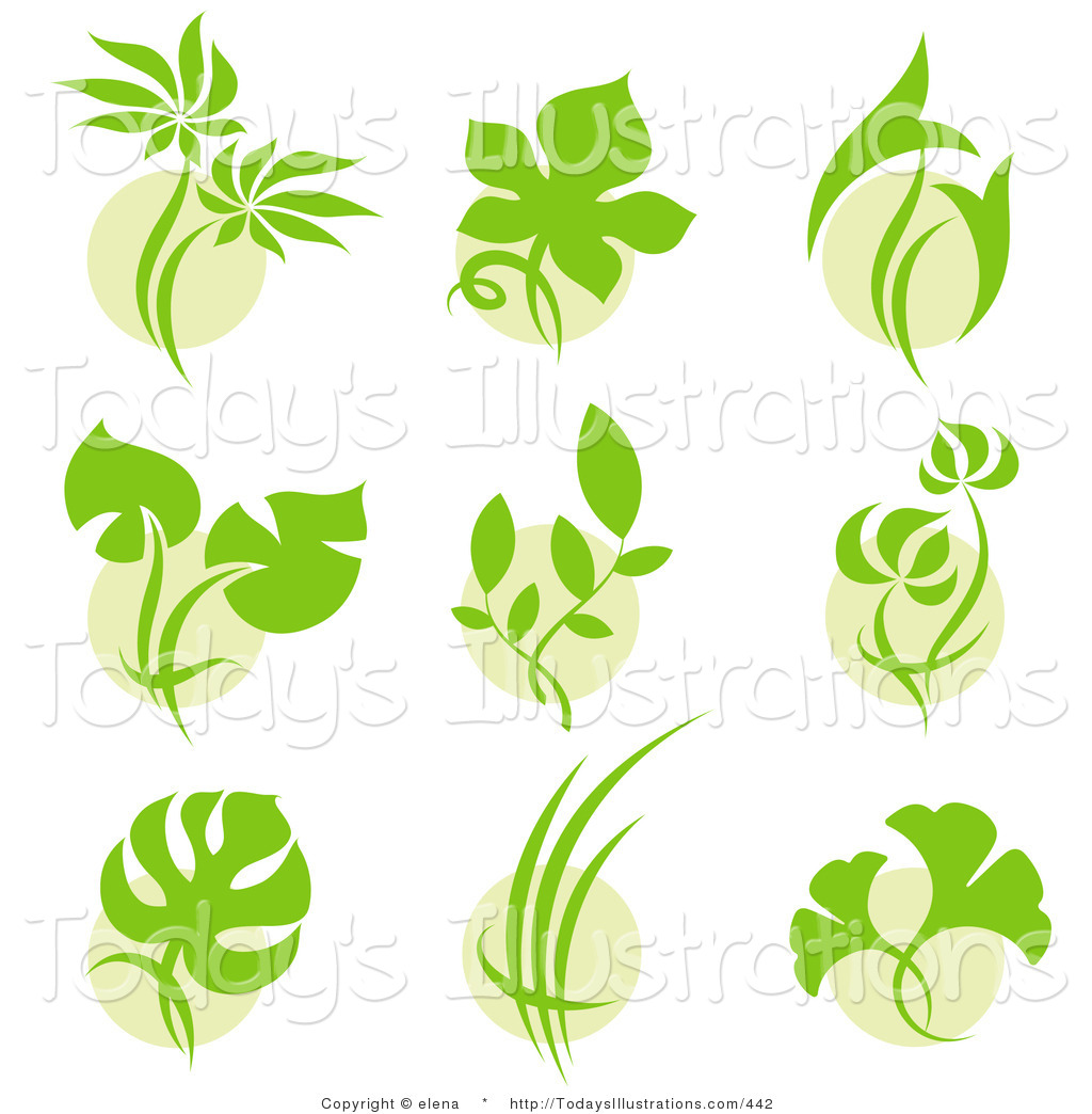Green Leaf Logo Design