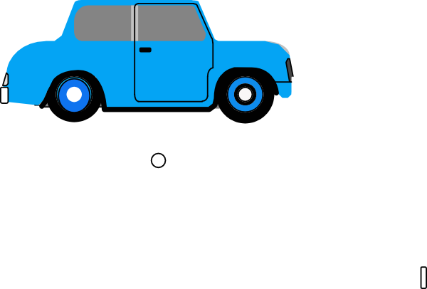 Blue Animated Car - ClipArt Best