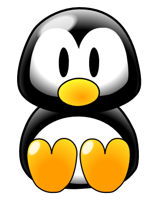 animals cute animated cartoon clipart animal clip penguin baby funny profile animation tux cliparts kartun penguins lucu birthday profiles hd