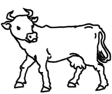 Cow Outline - ClipArt Best - Cliparts.co