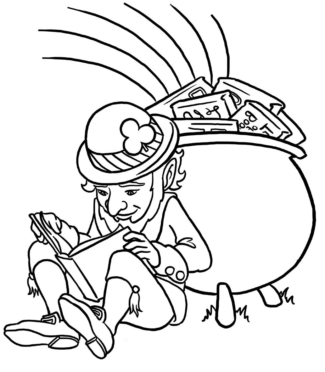 zabbar st patricks day coloring pages - photo #4