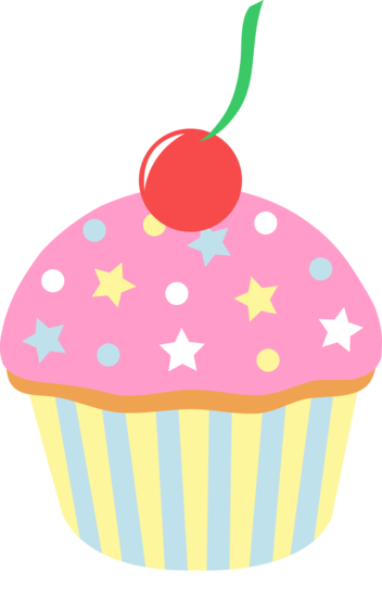 Cake Clip Art Pink : Pink Cupcake Pictures - Cliparts.co
