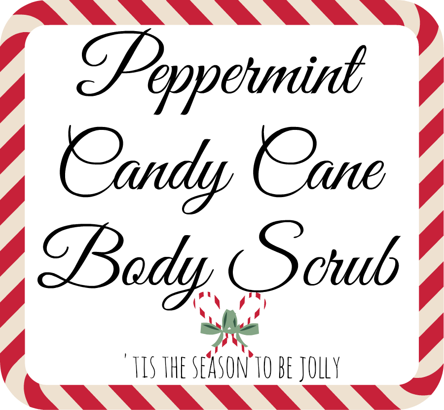 peppermint candy cane body scrub | The Classy It Girl