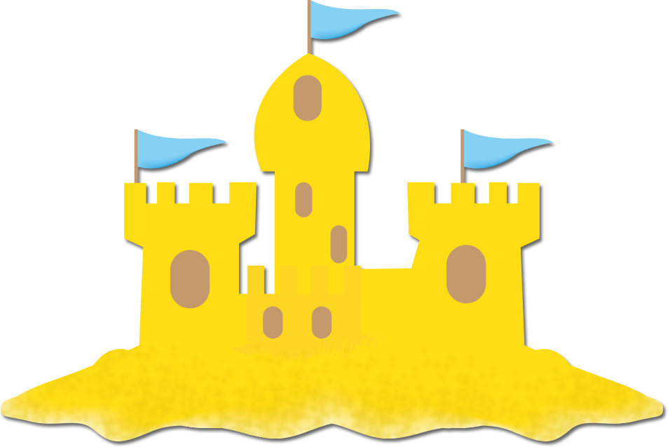 Sand Castle Clip Art - Cliparts.co