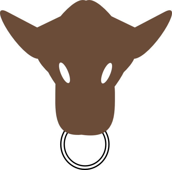 Cow Head Silhouette Clip Art | Clipart Panda - Free Clipart Images