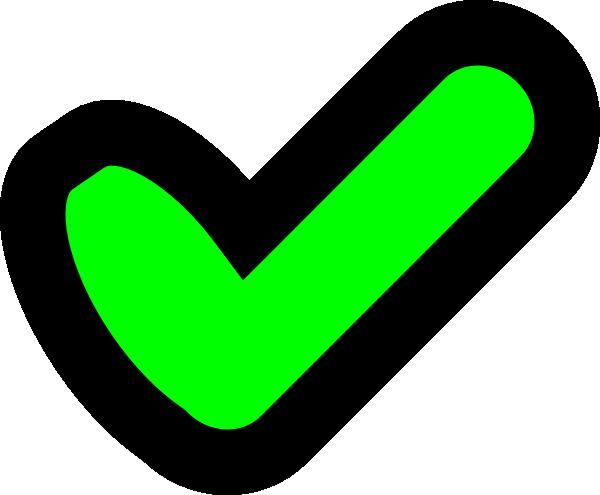 Tick clip art - vector clip art online, royalty free & public domain