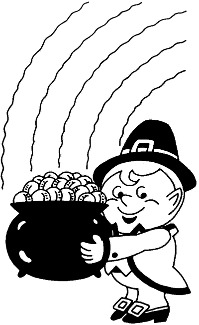 Free Pot of Gold Clipart - Public Domain Holiday/StPatrick clip ...