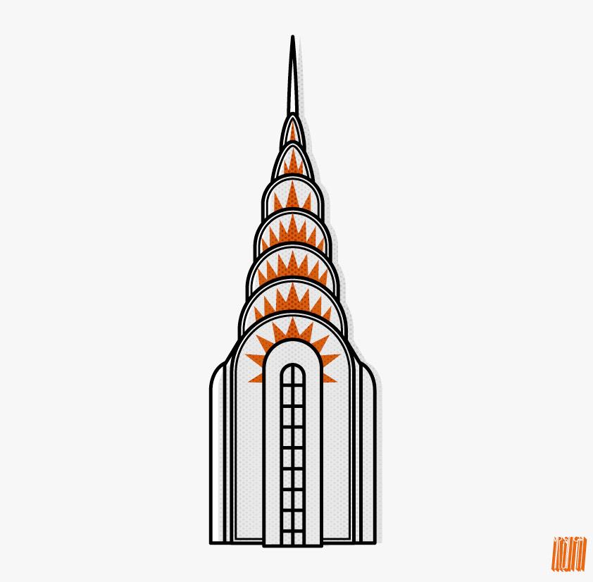 Chrysler Building Vector - Cliparts.co