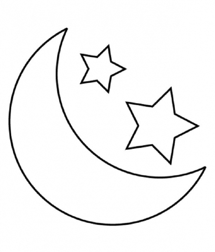 black and white star clip art - photo #28