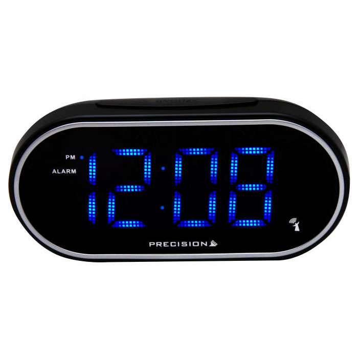 digital radio alarm clock light twilight pure 39 s alarm clock digital radio and led lights. Black Bedroom Furniture Sets. Home Design Ideas